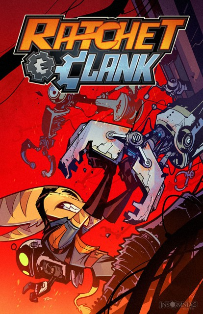 Ratchet and Clank Comic Book Cover Volume 2