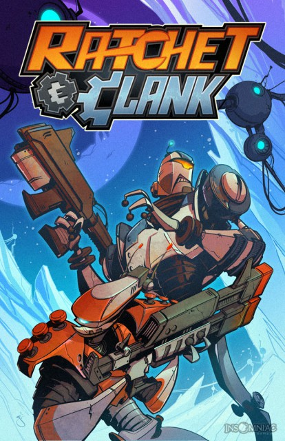 Ratchet and Clank Comic Book Cover Volume 3