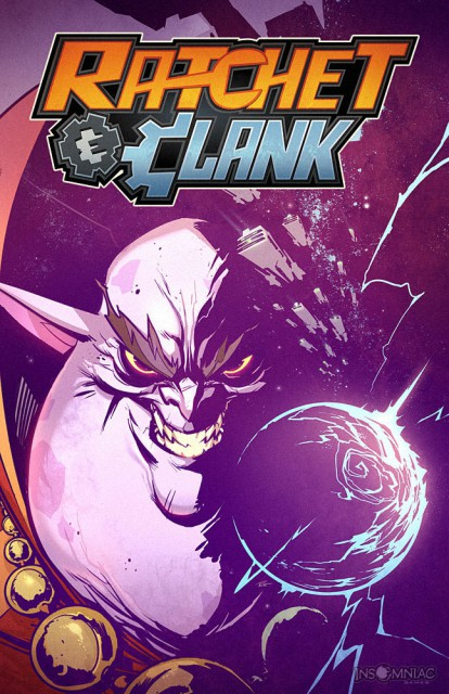 Ratchet and Clank Comic Book Cover Volume 6