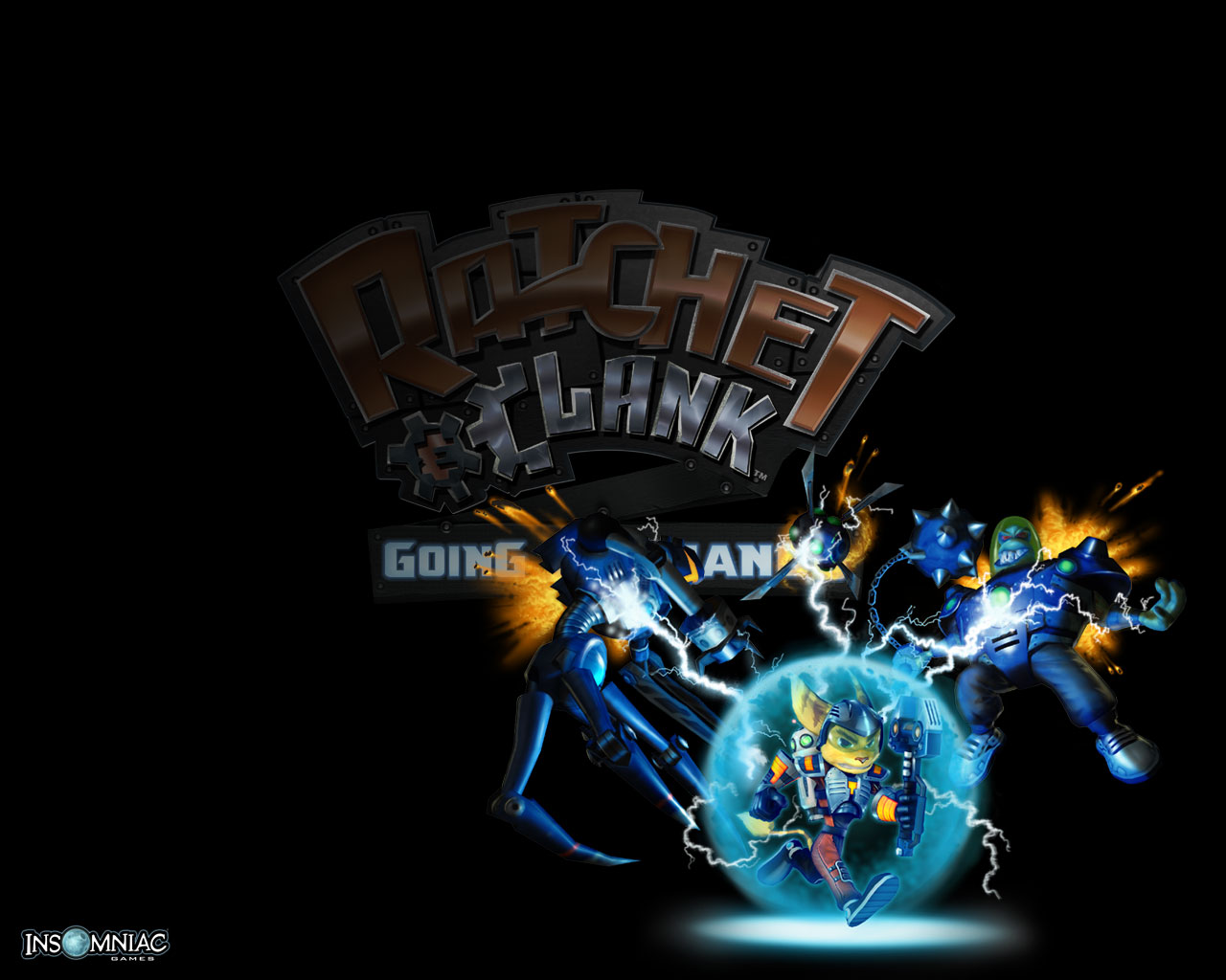 Wallpapers Ratchet Clank Going Commando Ps2 Ratchet Galaxy