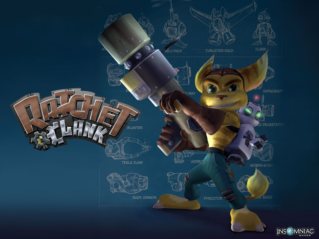Wallpapers Ratchet Clank Ps2 Ratchet Galaxy