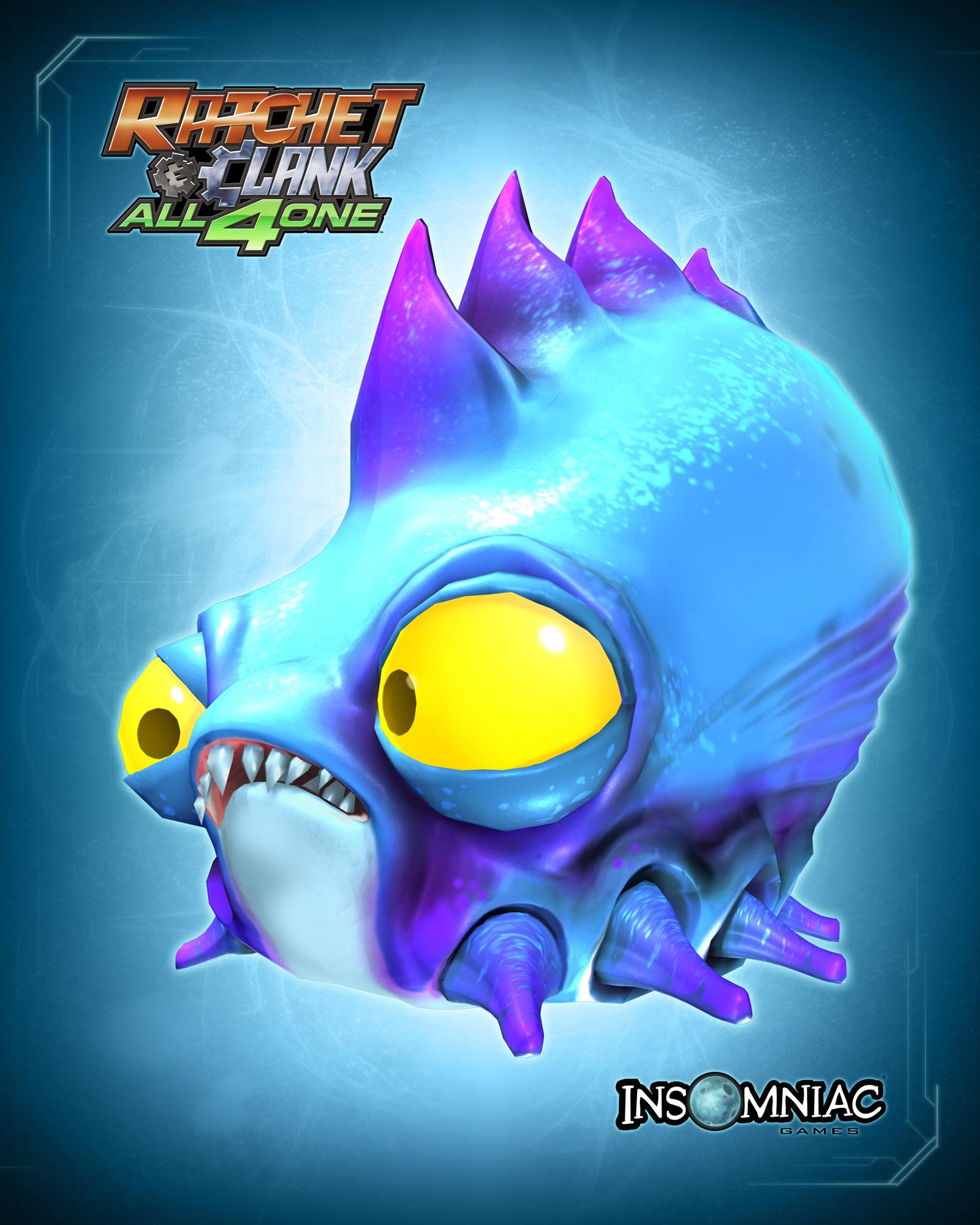 Enemies Artwork Ratchet Clank All 4 One Ps3 Ratchet Galaxy