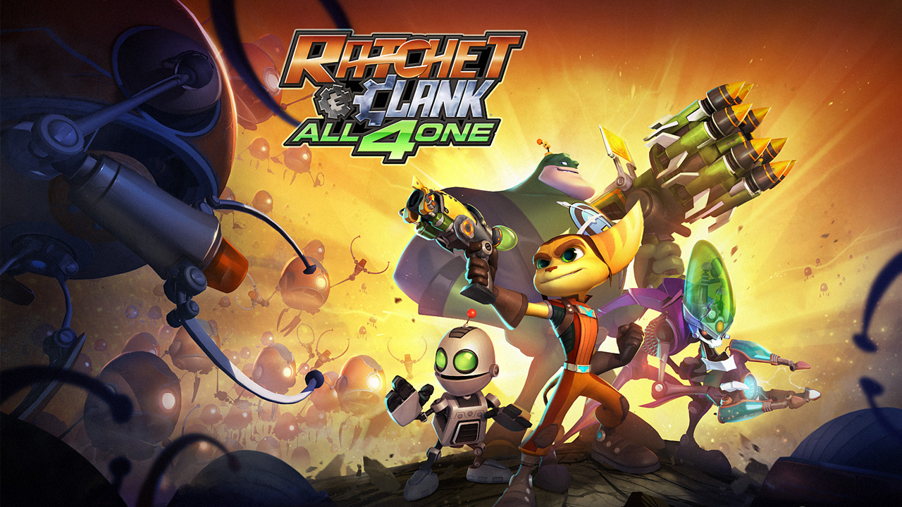 Wallpapers Ratchet Clank All 4 One Ps3 Ratchet Galaxy