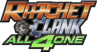 Logo Ratchet and Clank All 4 One