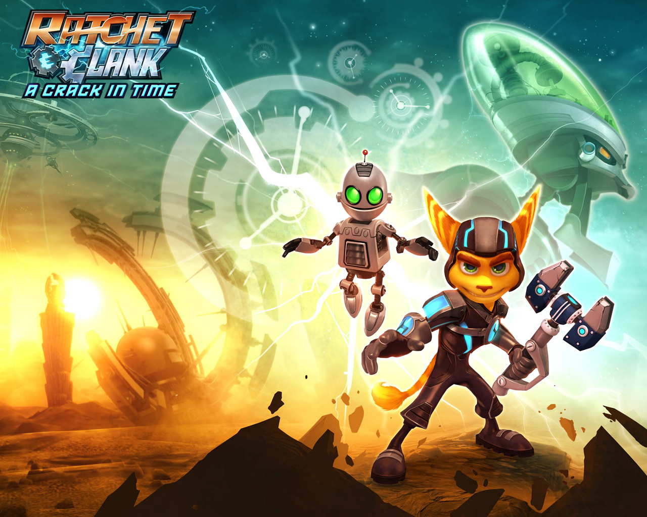 Wallpapers Ratchet Clank Future A Crack In Time Ps3