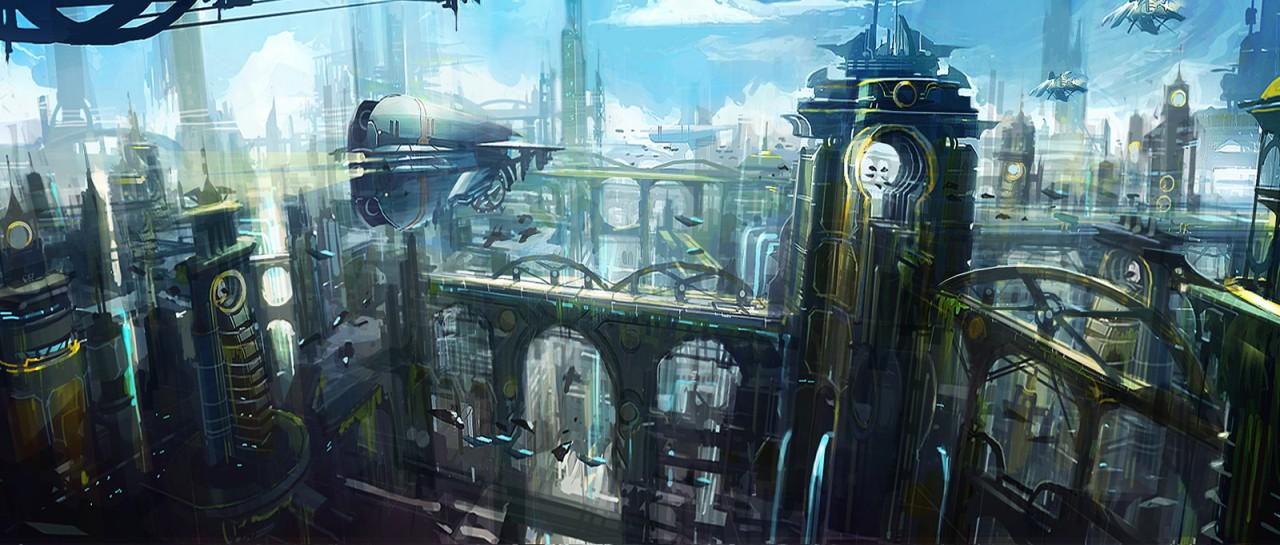 Environment Artwork Ratchet Clank Future Tools Of