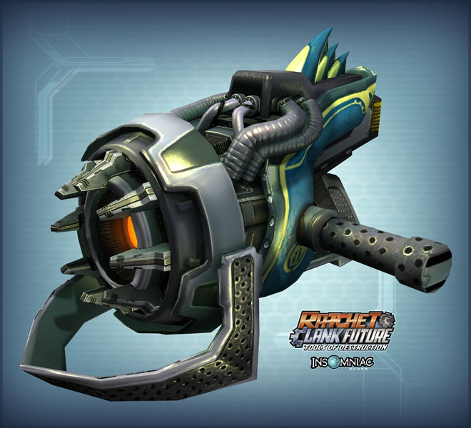 Items Artwork Ratchet Clank Future Tools Of Destruction