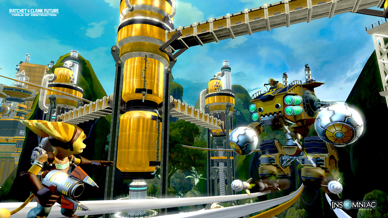 Grind Boots Gadgets Ratchet Clank Future Tools Of
