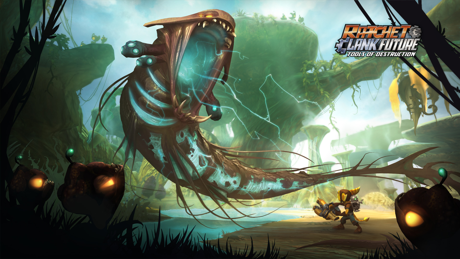 Wallpapers Ratchet Clank Future Tools Of Destruction Ps3