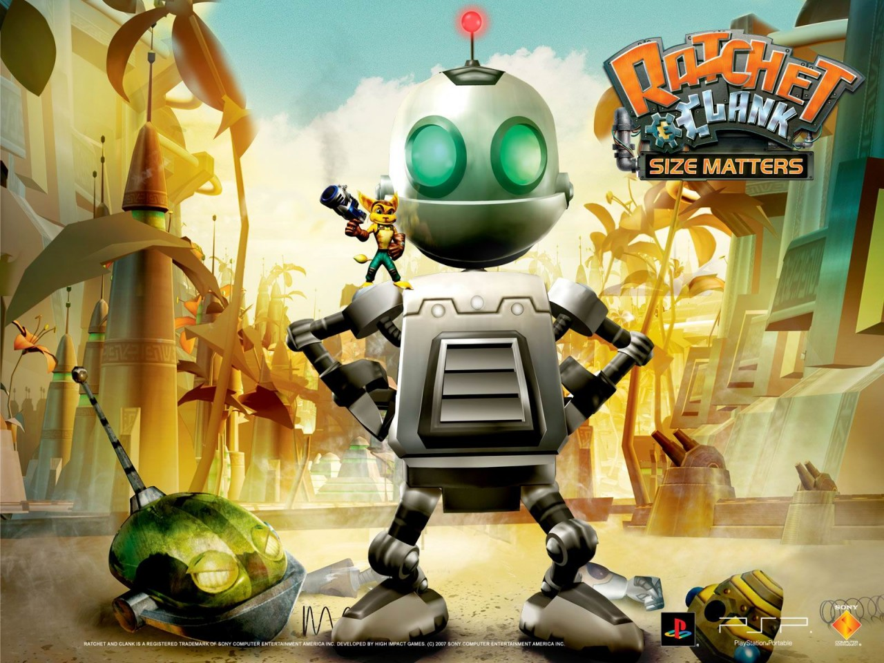 ratchet and clank all 4 one wallpaper