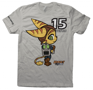 T-shirt Ratchet & Clank 15 ans