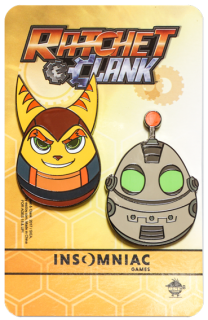 Ratchet & Clank 15th Anniversary Pin Set