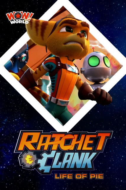 Ratchet & Clank : Life of Pie Series Cover