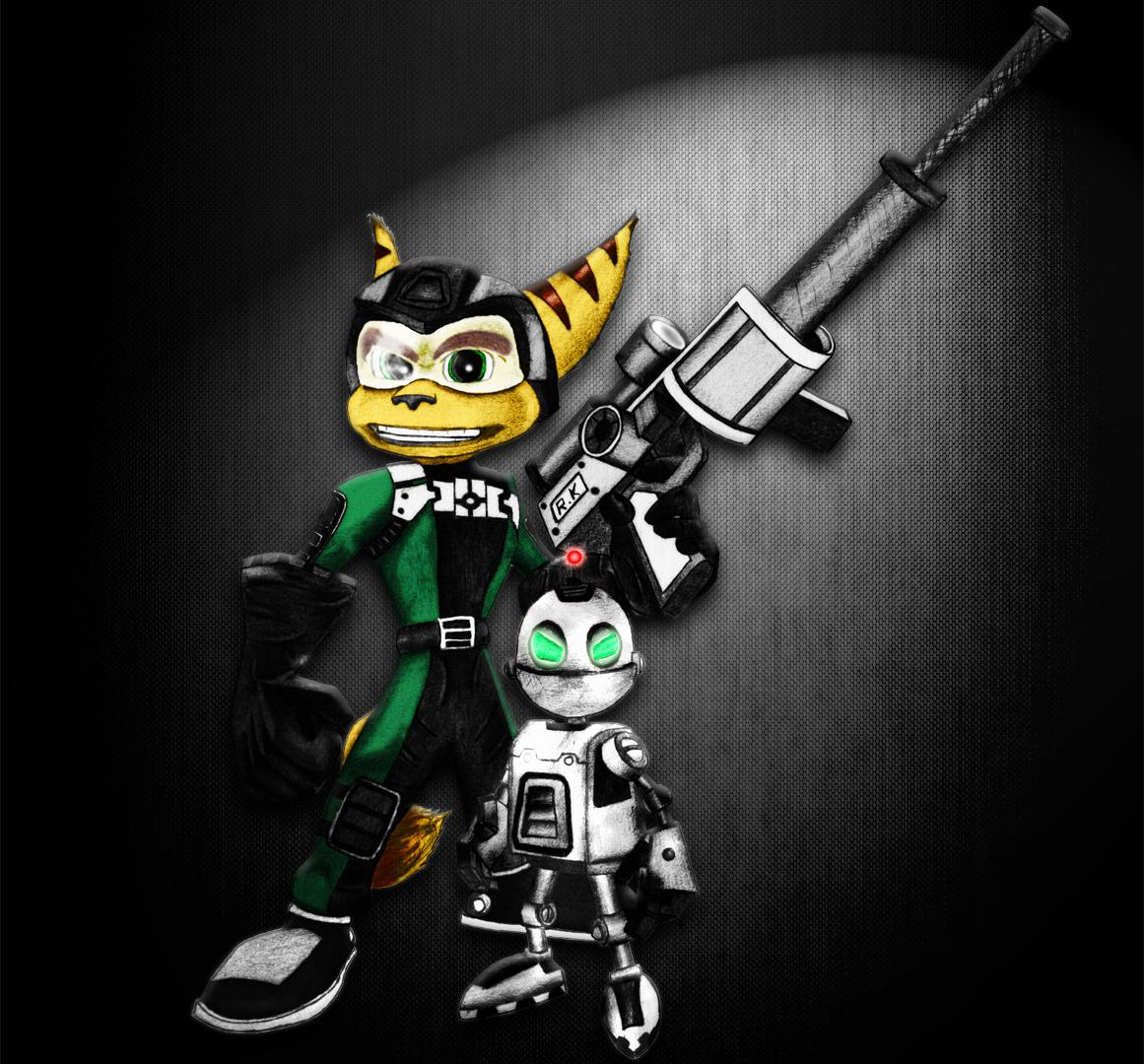 Ratchet & Clank - Commando V2