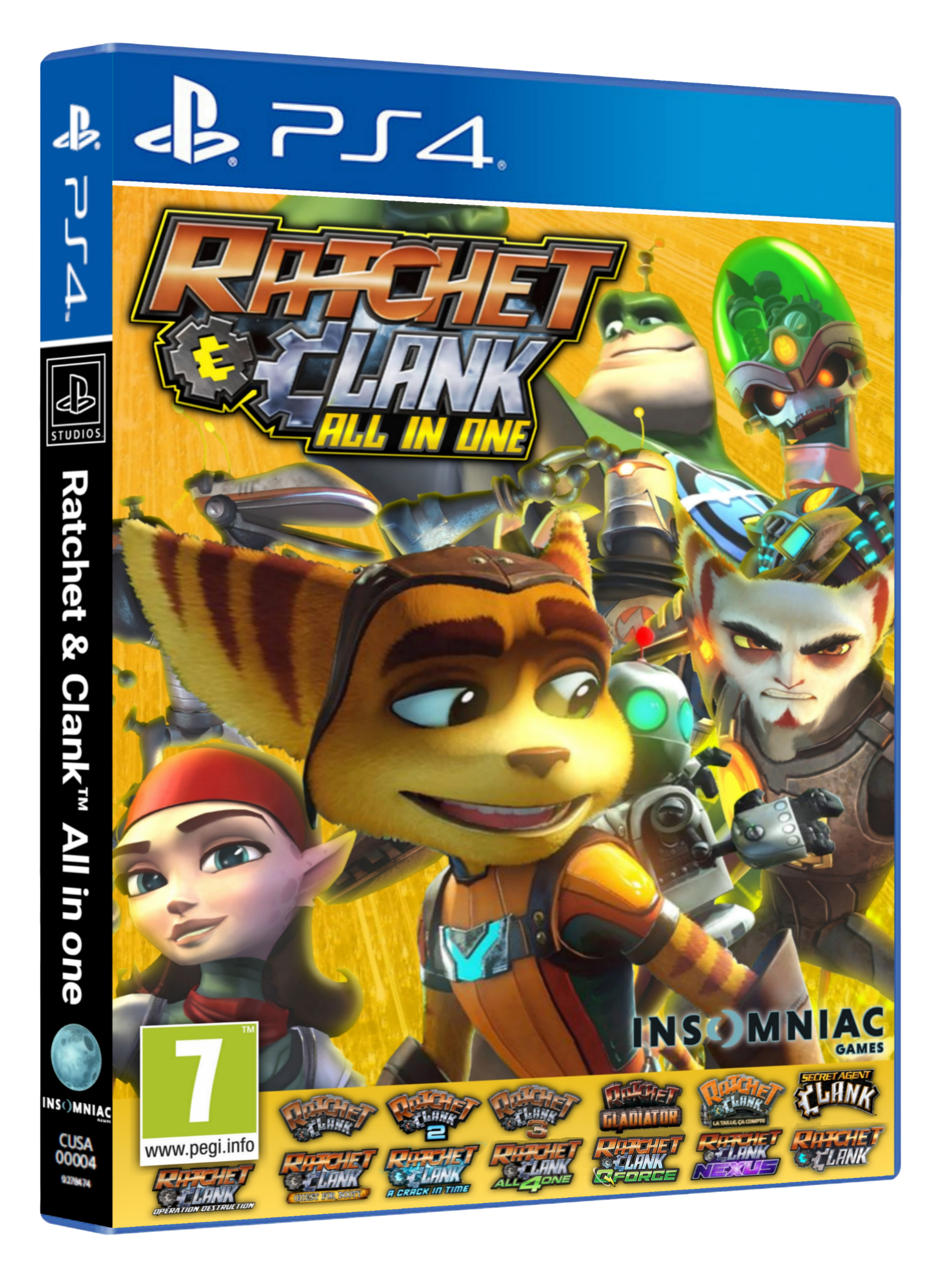 Concept jeux Ratchet & Clank™: All in one
