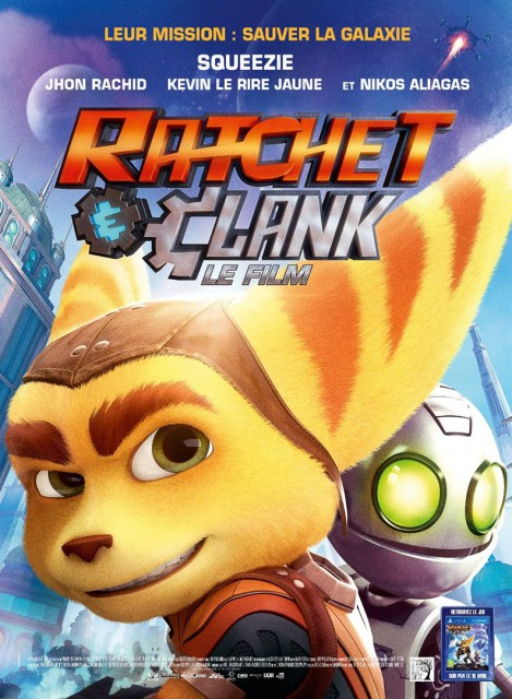 Poster Film Ratchet and Clank