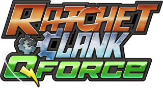 Logo Ratchet and Clank Q-Force