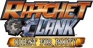 Logo Ratchet & Clank : Quest For Booty