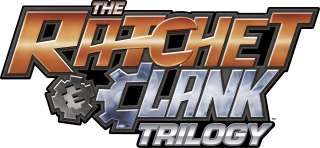 Logo Ratchet and Clank Trilogy