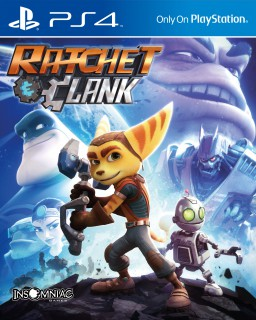 Jaquette Ratchet and Clank