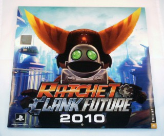 Calendrier mural 2010 Ratchet & Clank