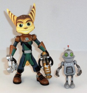 Ratchet avec Clank (Quest For Booty)