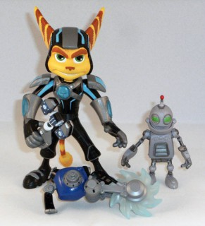Ratchet avec Clank (A Crack In Time)