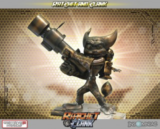 Statue exclusive Ratchet and Clank GamingHeads