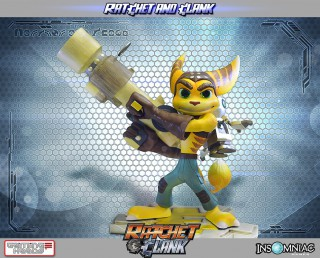 Statue Ratchet and Clank GamingHeads